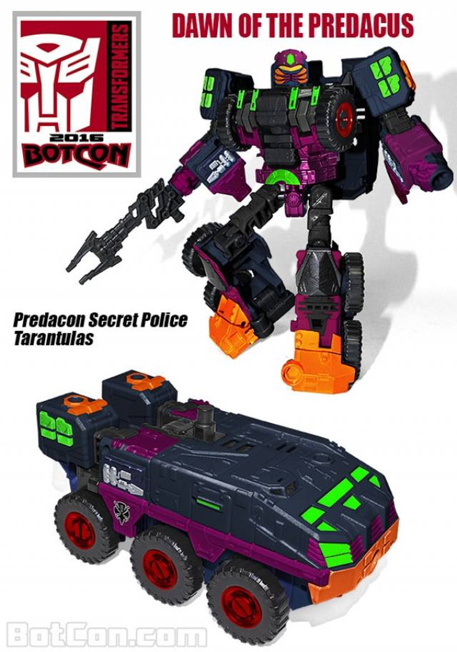 Botcon 2016 - Dawn of the Predacus - Exclusive Bagged Set