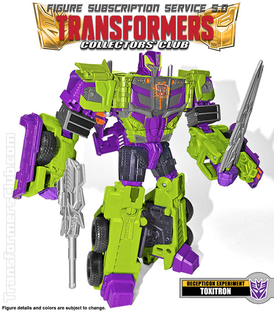TFCC Subscription Figure 5.0 - Toxitron