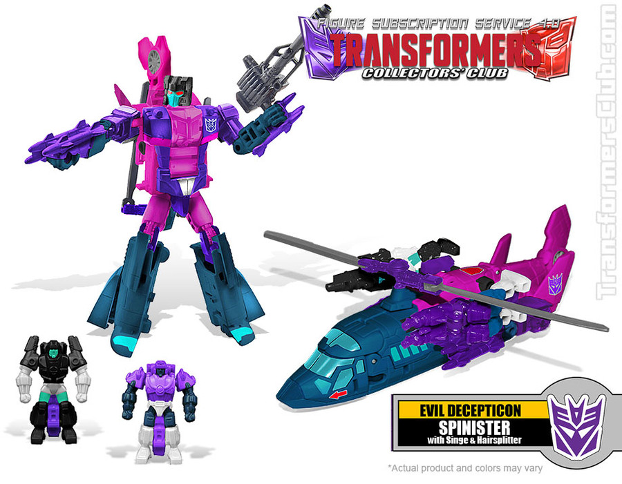 TFCC Subscription Figure 4.0 - Spinister