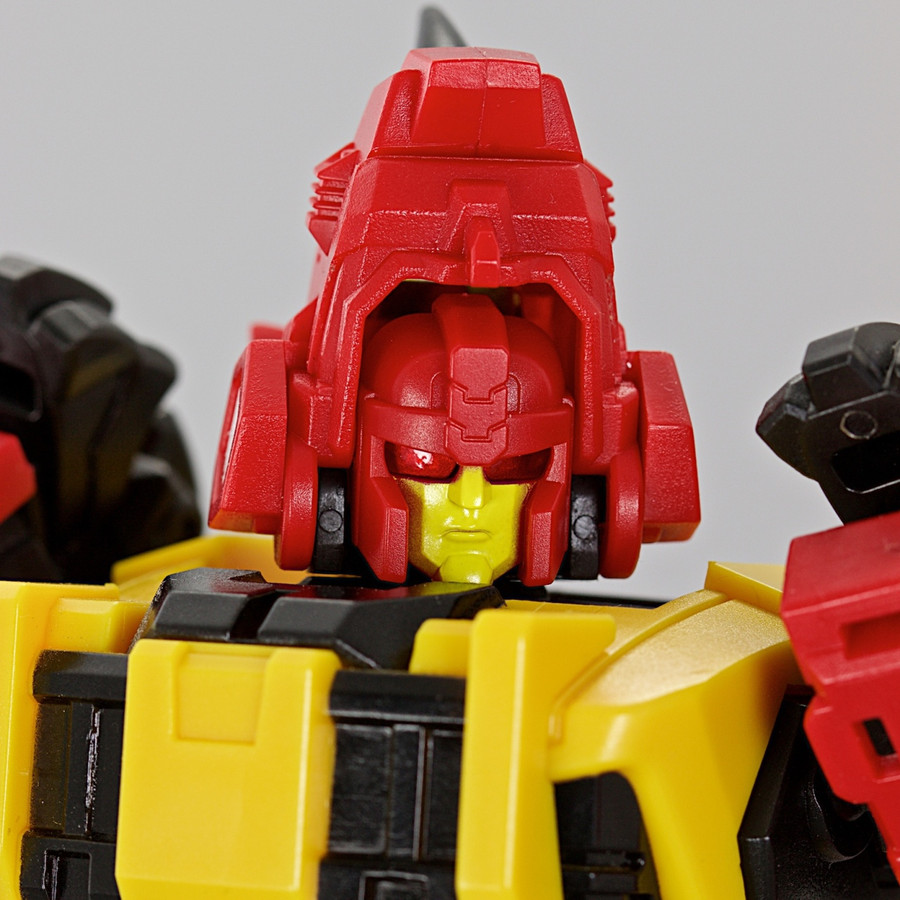 Mastermind Creations Reformatted R-20FK Feral Rex - Feral Con Dimension X - Face Kit