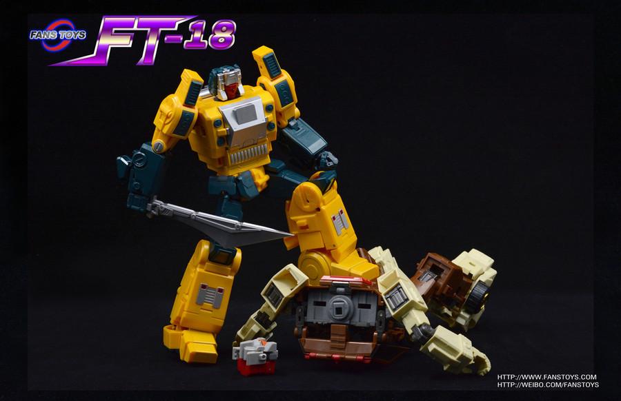 Fans Toys - FT-18 Lupus
