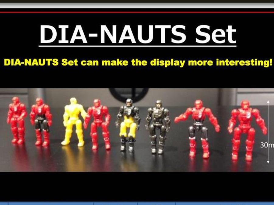 Diaclone Reboot - Dia-Nauts Set of 8
