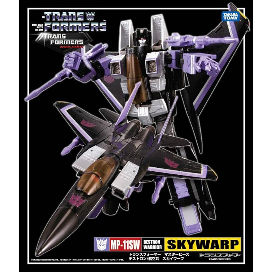 Masterpiece MP-11SW Skywarp Asia Exclusive - Re-issue