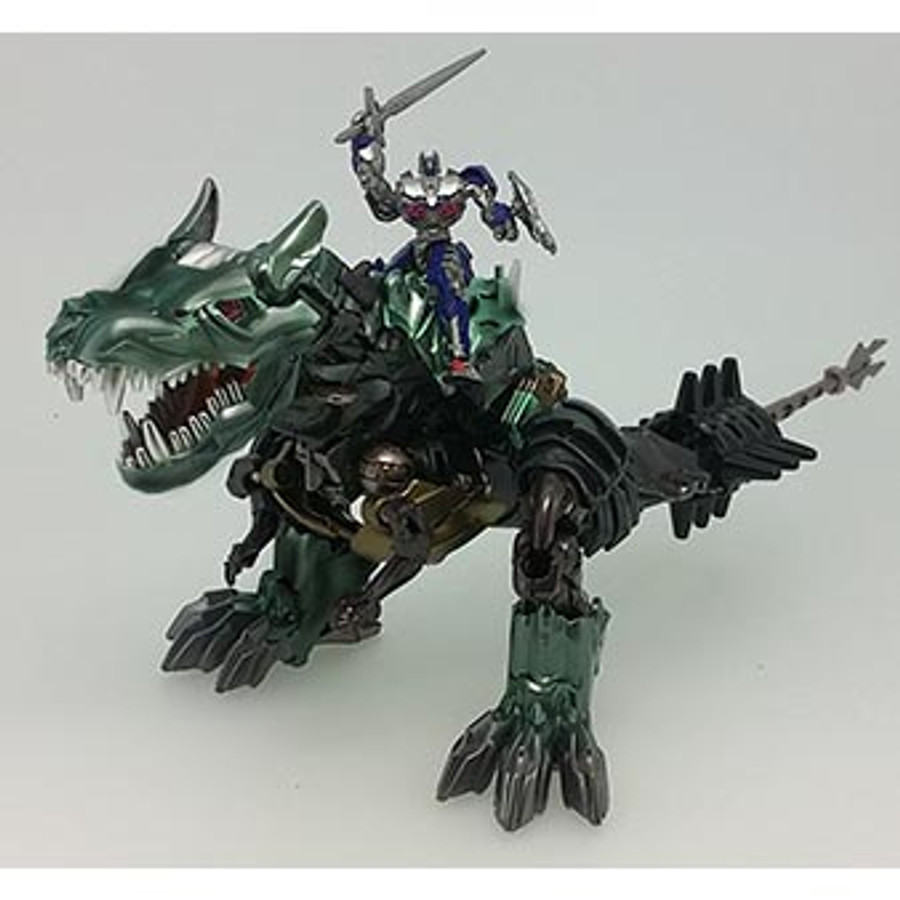 Transformers Movie 10TH Anniversary - MB-09 Dinoride Grimlock & Optimus Prime