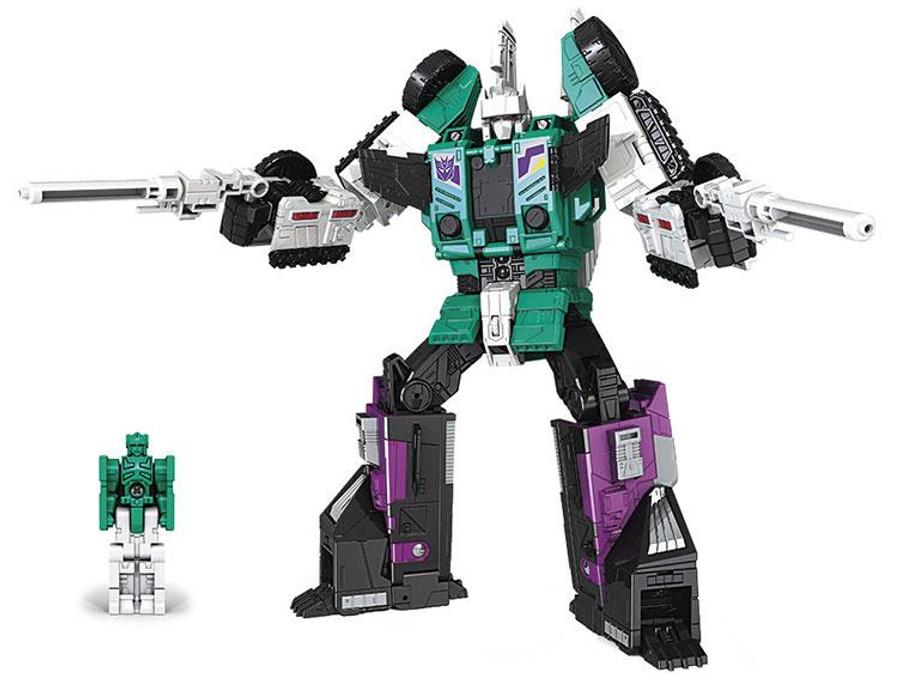 Transformers Generations Titans Return - Leader Class Sixshot