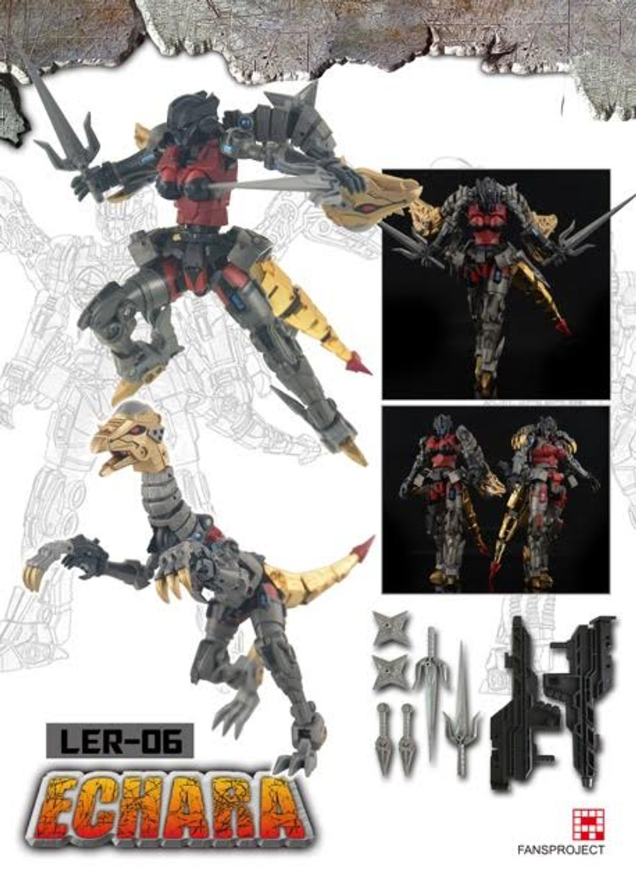 Fansproject - Lost Exo Realm LER-06 Echara