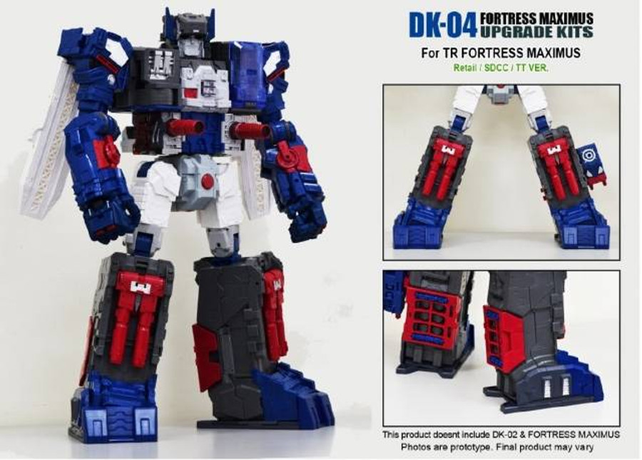 DNA Design - DK-04 Fortress Maximus Upgrade Kit