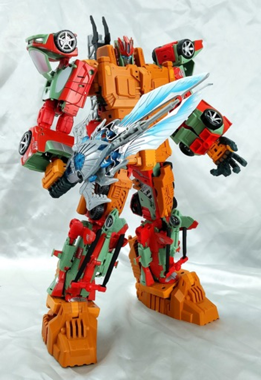 C+ Customs - THC-02B - Combiner Wars Victorion Add On Set