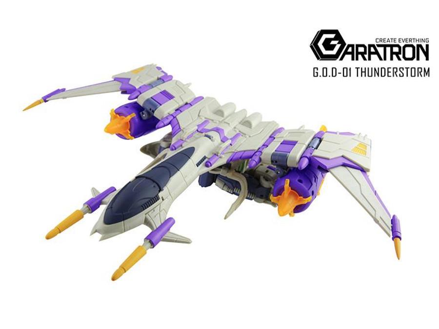 Garatron - G.O.D. - 01 Thunderstorm