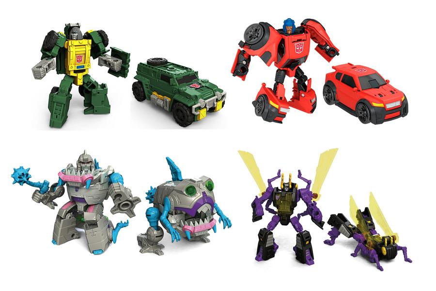 Transformers Generations Titans Return - Legends Class Wave 4 - Set of 4