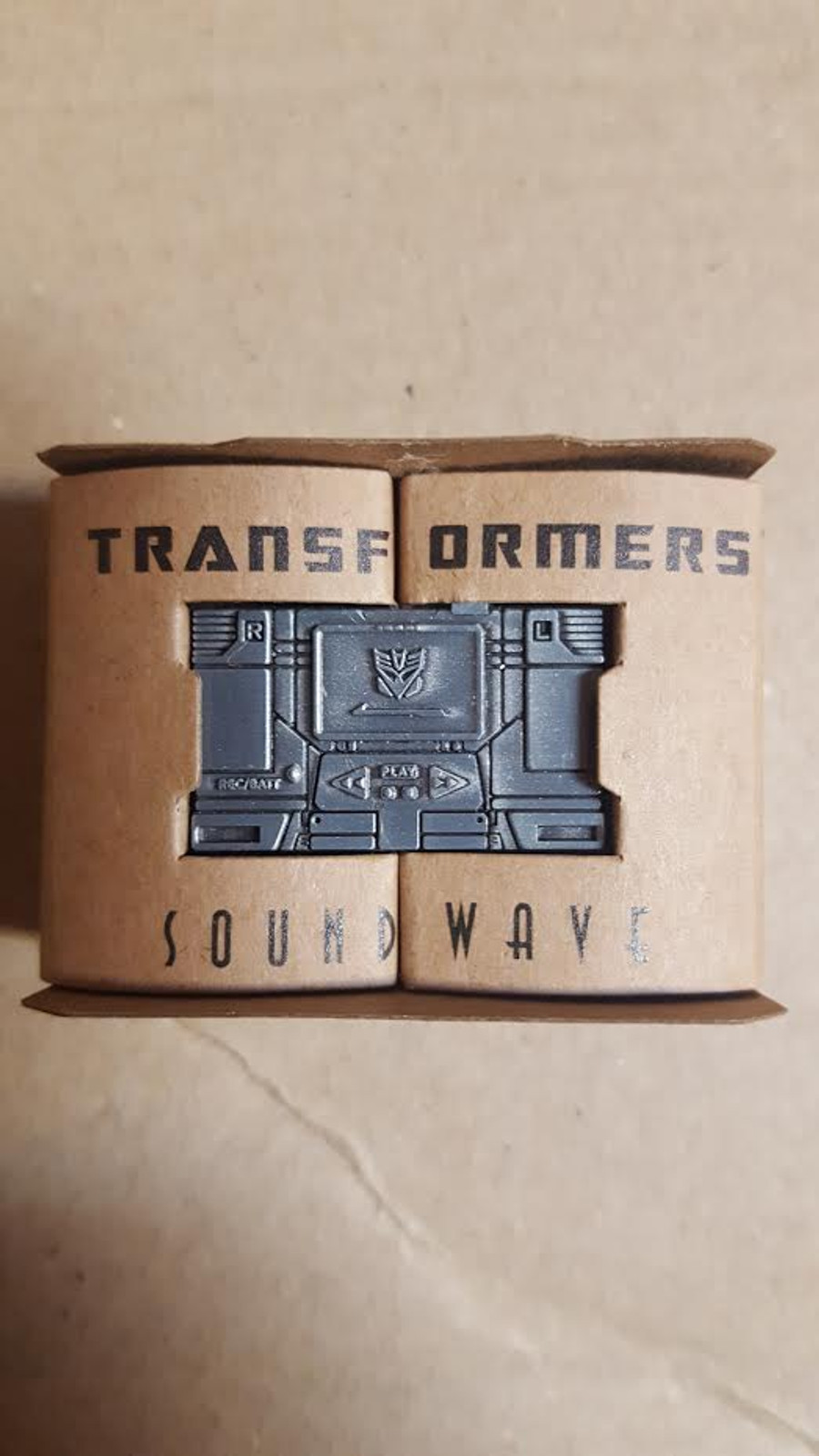 Masterpiece Soundwave Promo Item: Diecast Soundwave