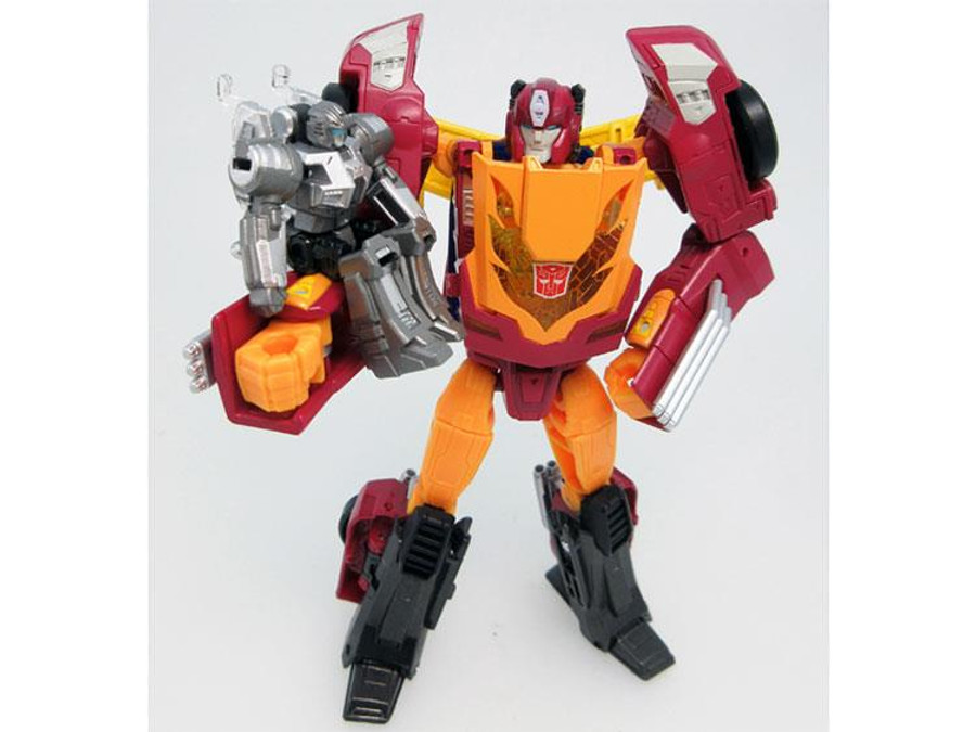 Takara Transformers Legends - LG45 Target Master Hot Rodimus
