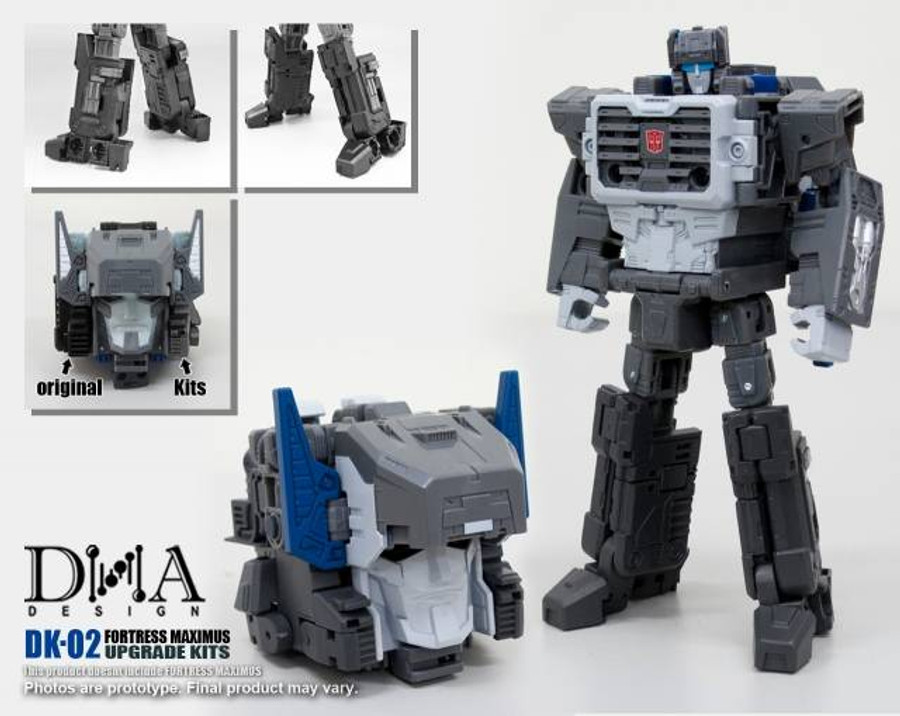 DNA Design - DK-02 Fortress Maximus Upgrade Kit