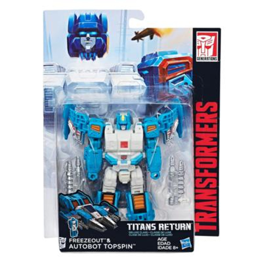 Transformers Generations Titans Return - Deluxe Wave 4 - Topspin