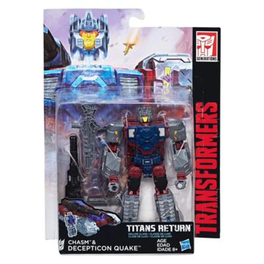 Transformers Generations Titans Return - Deluxe Wave 4 - Quake