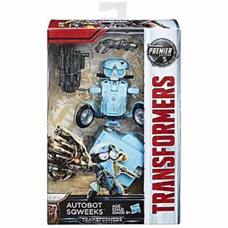 Transformers The Last Knight - Premier Edition Deluxe Autobot Sqweeks (Hasbro)