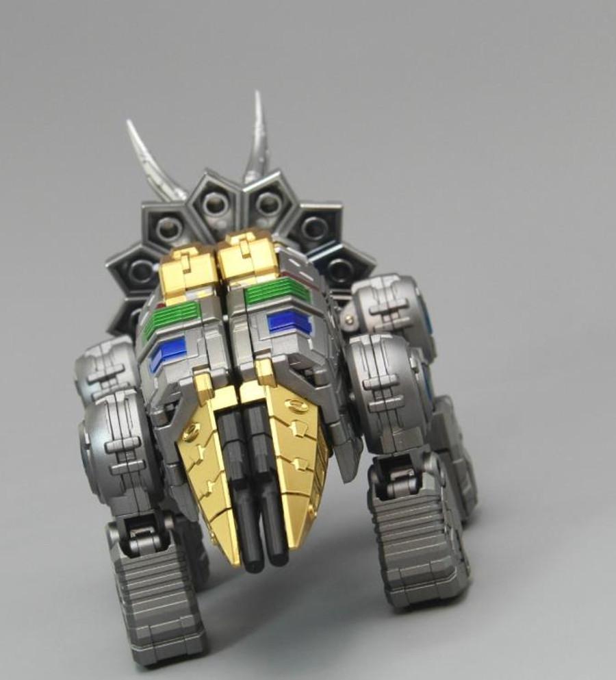 ToyWorld - Metallic Dino Combiner Set of 5