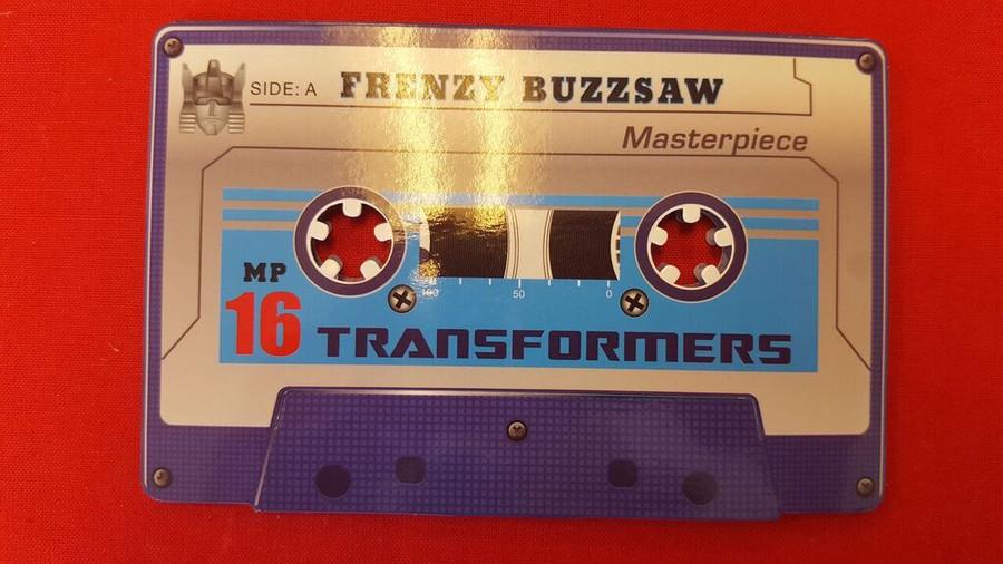 MP-16 Masterpiece Frenzy & Buzzsaw Coin
