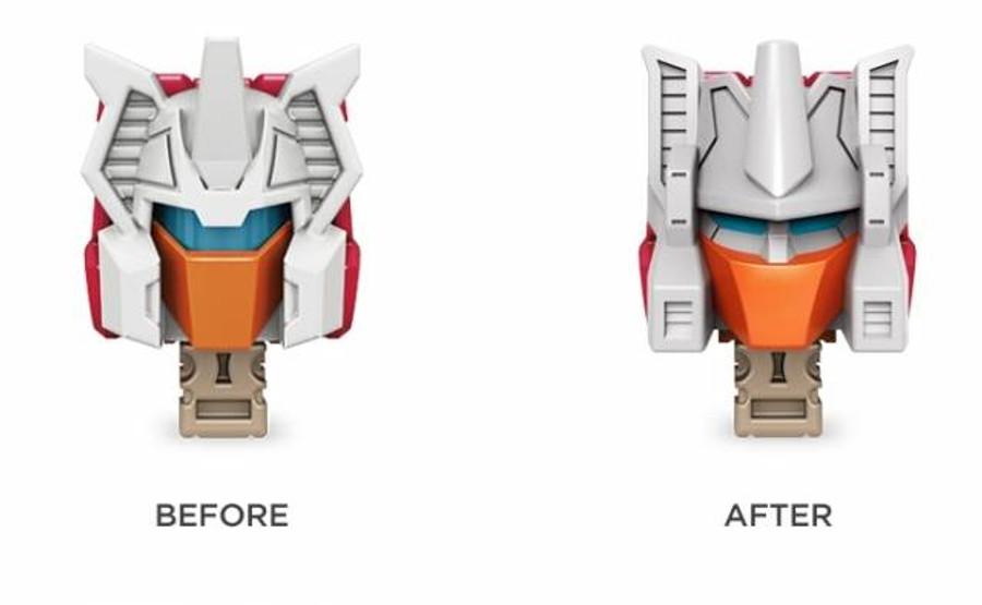 Fix It - Titans Return Replacement Face Plates - Set of 8