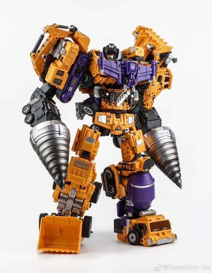 Generation Toy - GT-06 Duron Drill Gift Set