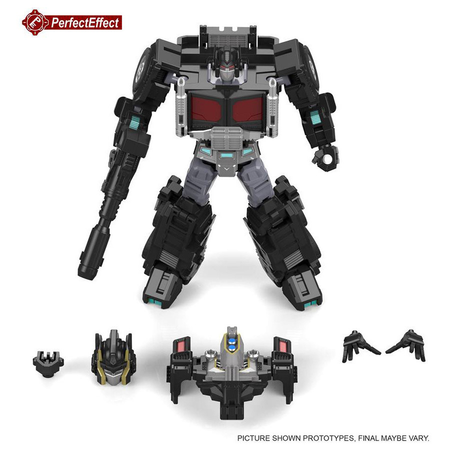 Perfect Effect - PC-20 Black Jinrai Prime Upgrade Set