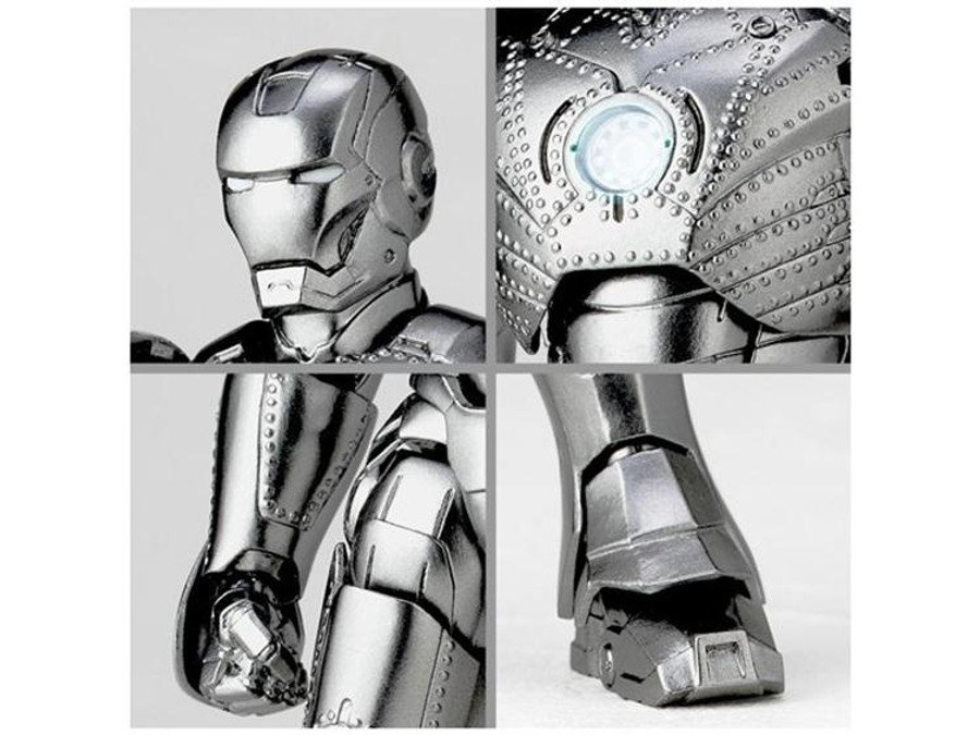Revoltech 035 - Iron Man Mark II