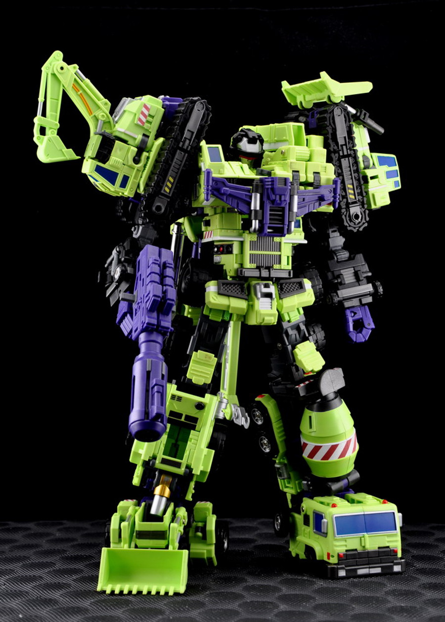 Maketoys - MTCombiner - Green Giant Box Set