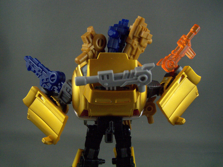 Renderform Gold Scout Kit with Exclusive Super Gold Blaster Kit