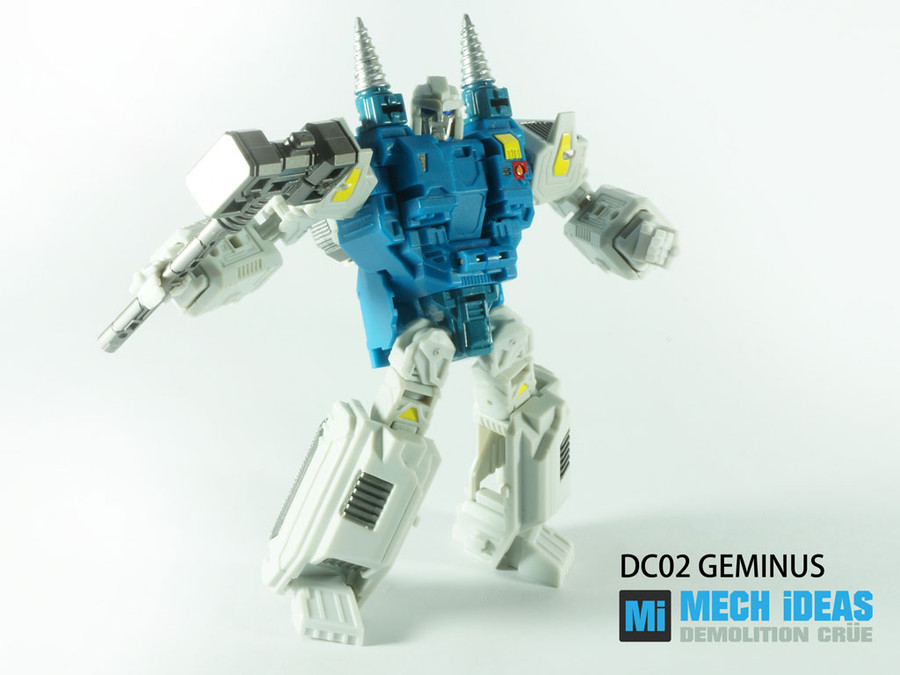 Mech Ideas - Demolition Crue DC-02 Geminus
