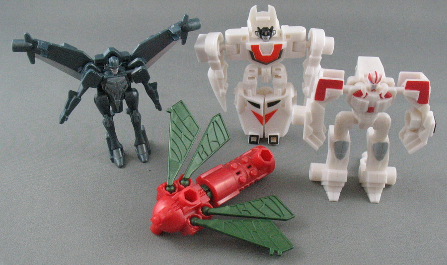 Micron Arms Gashapon #3 (Capsule Toy) - Set of 4