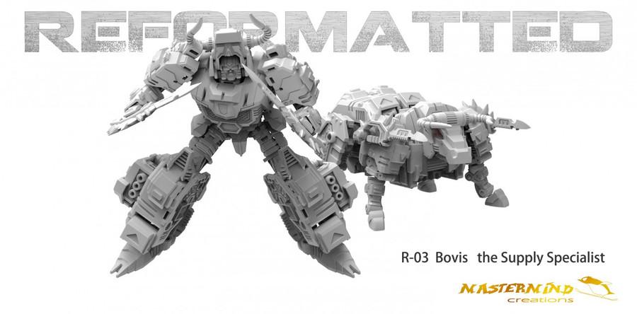 Reformatted 03 - R-03 Bovis the supply specialist (Feral Rex)