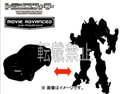 Transformers Age of Extinction - AD18 Autobot A (Takara)