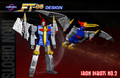 FT-05 Soar Blue Anime Version - Iron Dibots No.2