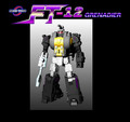 Fans Toys - FT-12 Grenadier Grey Chest Version