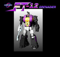Fans Toys - FT-12T Grenadier Purple Chest Version