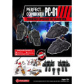 Perfect Effect PC-01 Perfect Combiner Upgrade Set - Black Version