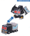 Q Transformers - QT32 Black Convoy