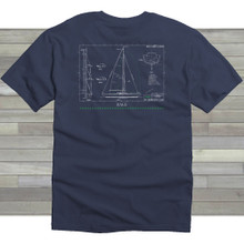 Blueprint Tee - Denim