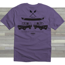 Bronco Tee - Purple
