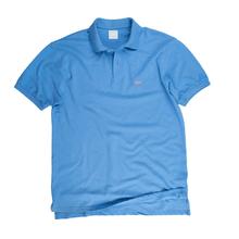 The Standard Piqué Polo Azure Blue
