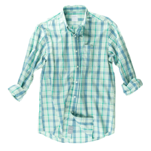 Plaid Sport Shirt - Gossamer Green