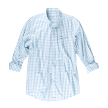 Gingham Sport Shirt - Winter Sky