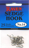 Raven Sedge Float Fishing Hooks
