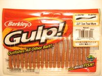 Gulp Natural Trout Worm
