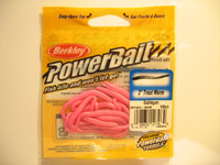 Berkley Power bait trout worm Bubble Gum