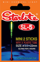 sl-5 starlight for float centerpin fishing