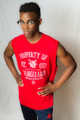 Mens Property of Vanguard Sleeveless T-Shirt