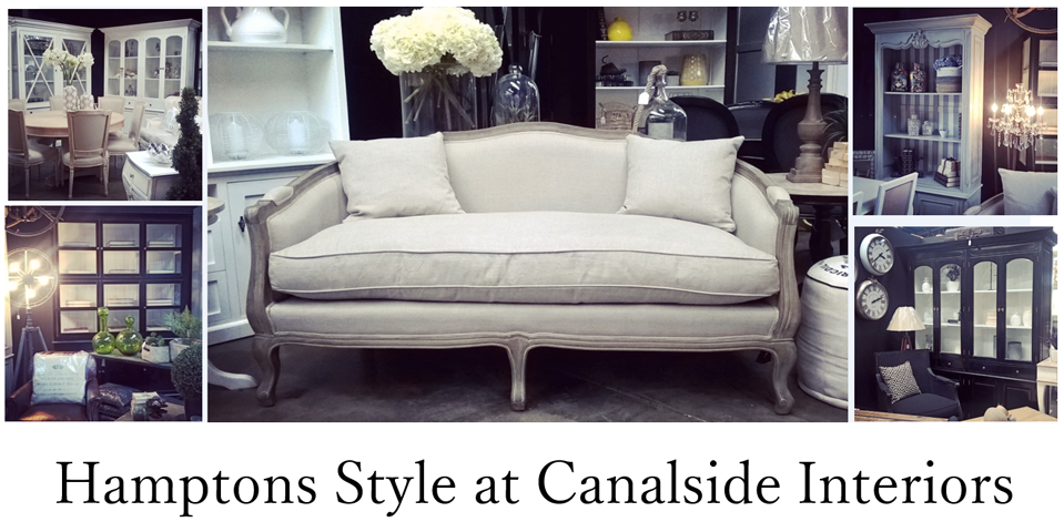 Hamptons Style at Canalside Interiors