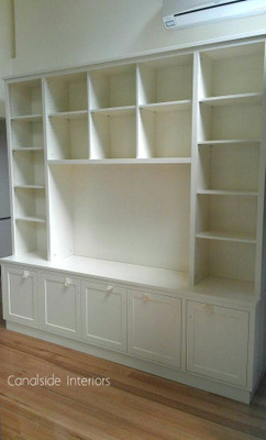 Custom Wall TV Entertainment Units - Canada Bay Premises - Canalside ...