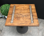 Railway Inlay Café Table Top